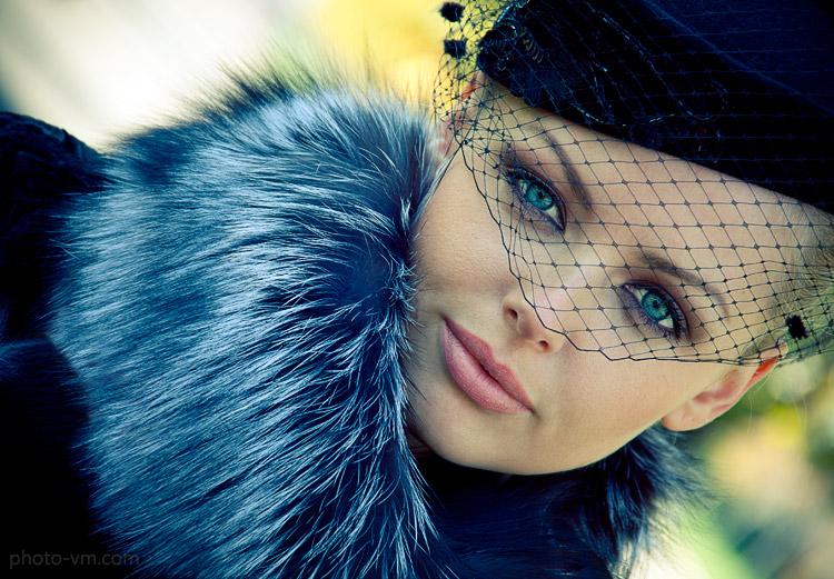 Фото Девушка с голубыми глазами