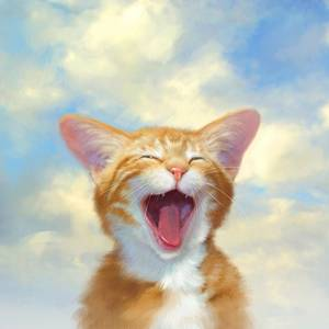 Фото Зевающий котёнок (© Штушка), добавлено: 01.10.2010 23:33