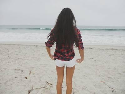 Фото Девушка на пляже (© Юки-тян), добавлено: 03.10.2010 18:02