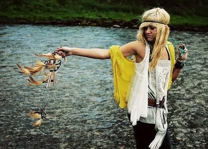 Фото девушка хиппи (© Louise Leydner), добавлено: 17.10.2010 11:55
