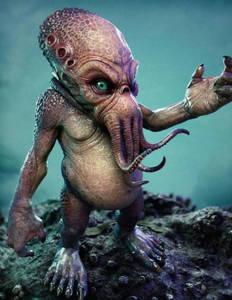 Фото Истинное лицо осьминога Пауля. (© Anatol), добавлено: 19.10.2010 15:34