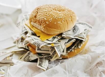 Фото Денежный гамбургер (© Юки-тян), добавлено: 21.10.2010 07:48