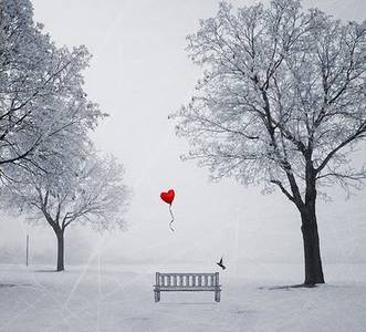 Фото Пустующая скамейка