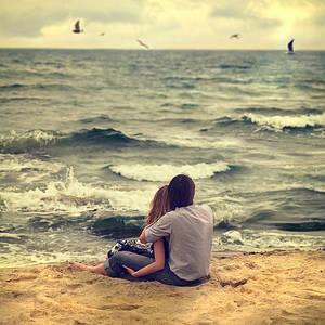 Фото парень и девушка на пляже