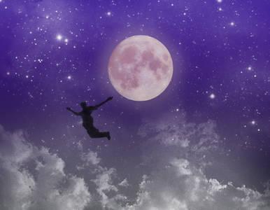 Фото падение с луны