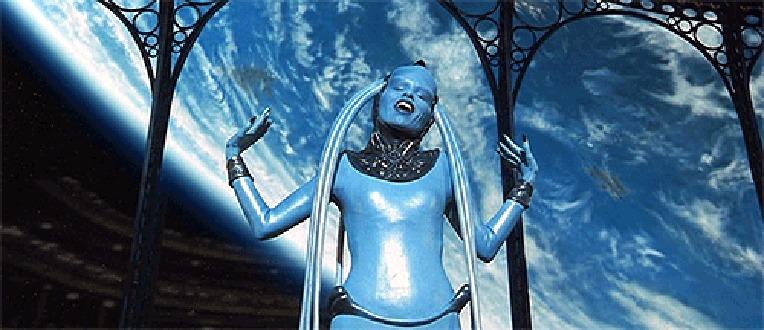 Фото инопланетянка ( из фильма 5 элемент)