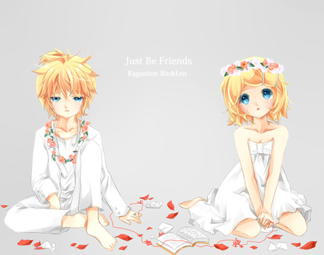 ���� Kagamine rin&Len - Just be friends (� ���-���), ���������: 08.11.2010 13:59