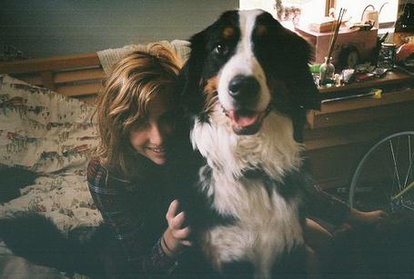 Фото Девушка и собака (© Юки-тян), добавлено: 18.11.2010 07:23