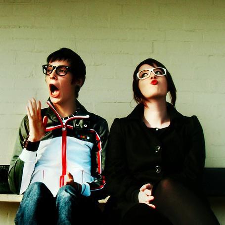 Фото Девушка и апрень в очках (© Юки-тян), добавлено: 20.11.2010 08:23