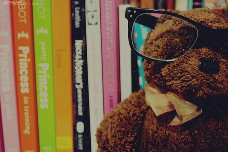 Фото Медведь в очках (© Юки-тян), добавлено: 22.11.2010 17:42