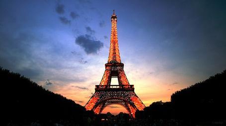 Фото Париж. Эйфелева башня
