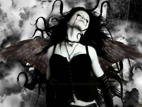 Фото Плачущей ангел