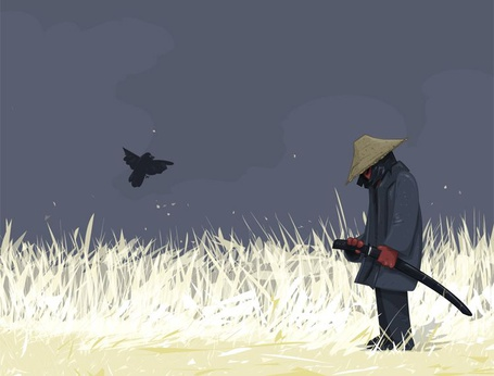 Фото Печальный самурай в поле (© Radieschen), добавлено: 07.12.2010 03:54