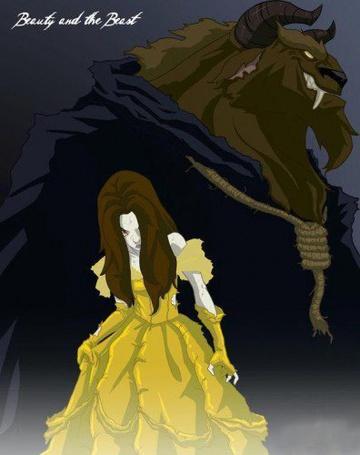 Фото Красавица и чудовище... кто из них теперь красавица? Beauty and the Beast