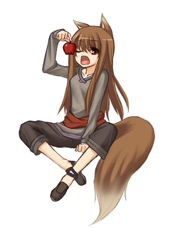 ���� ���� / Holo ����� ������ ������� �� ����� ������� � �������� / Spice and Wolf (� ���-���), ���������: 12.12.2010 11:14
