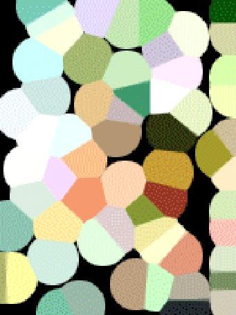 Фото Из разноцветных кусочков вдруг складывается изображение девушки (© Anatol), добавлено: 27.12.2010 14:55
