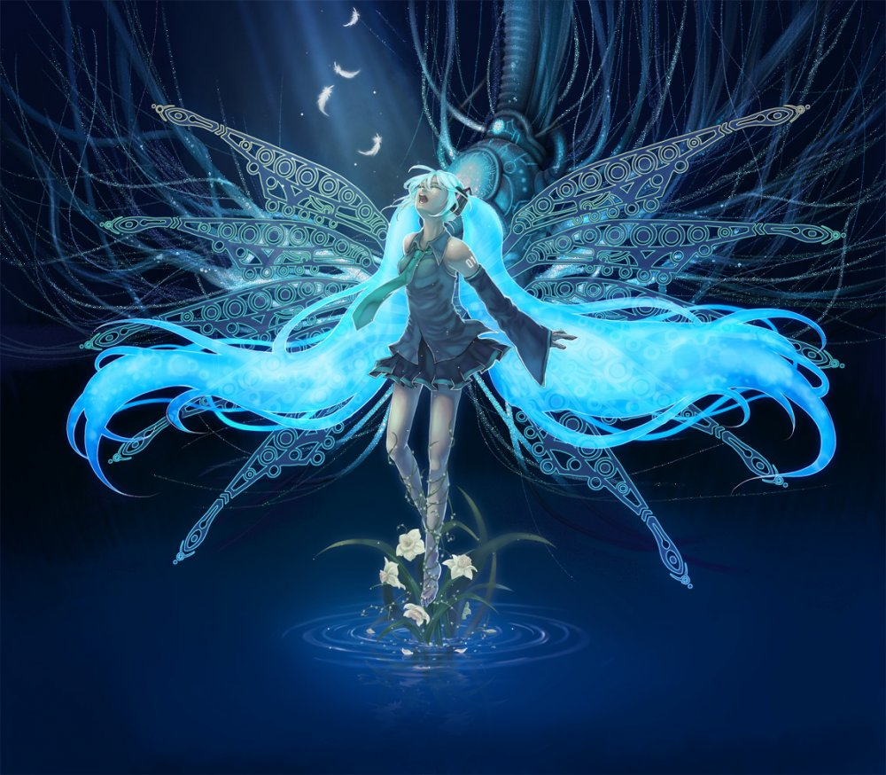 Фото Водяная принцесса (Мику Хатсуне)