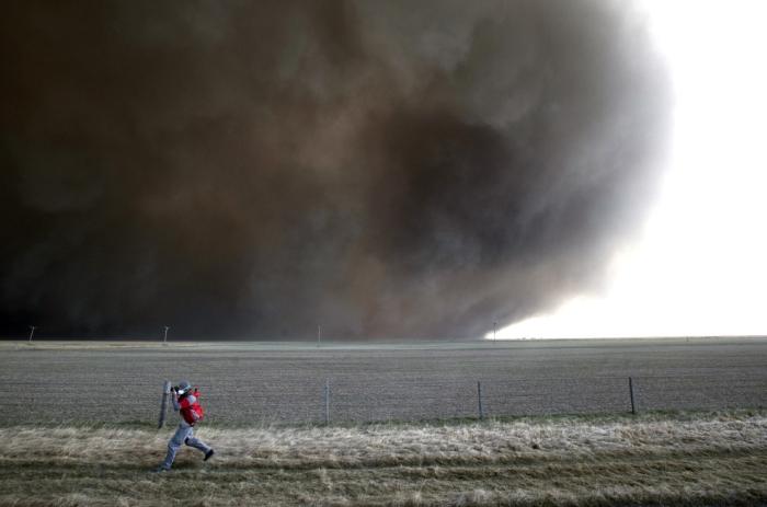 Фото надвигается ураган