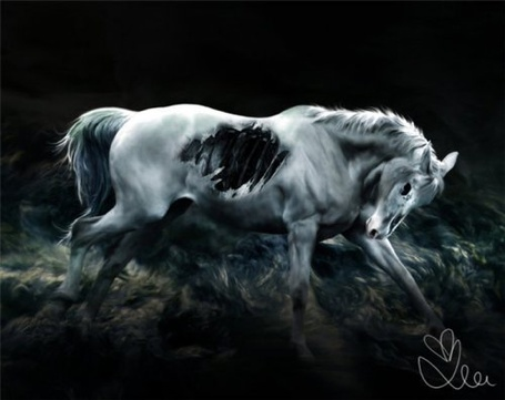 Фото Лошадь - зомби