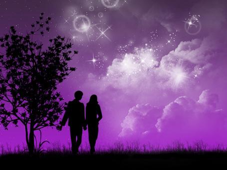 Фото вдвоём под звёздным небом