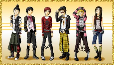 Фото Эмо персонажи из Наруто