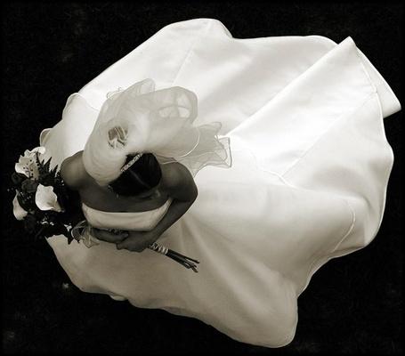 Фото Невеста с букетом лилий (© Штушка), добавлено: 15.01.2011 18:42