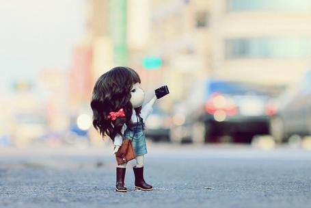 Фото Кукла на улице города (© Electraa), добавлено: 22.01.2011 21:20