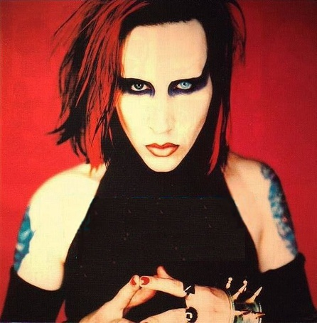 Фото Marilyn Manson в эпоху альбома 'Mechanical Animals' (© Electraa), добавлено: 31.01.2011 18:02