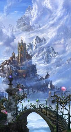 Фото Замок среди гор (© Штушка), добавлено: 31.01.2011 19:35