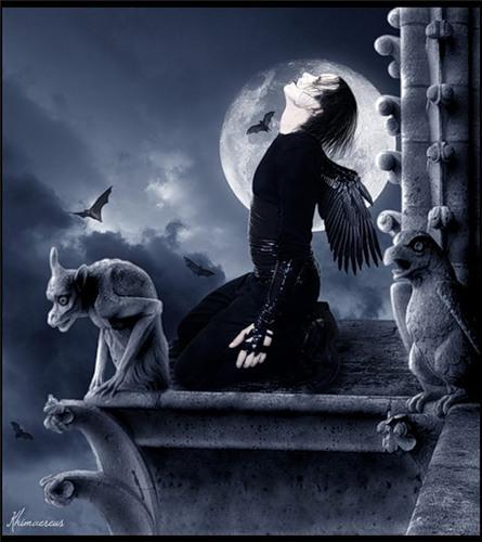 Фото Падший ангел тьмы