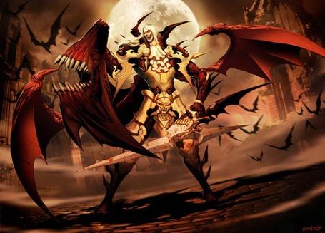 Фото Воин сражается с нескольками драконами (© Volkodavsha), добавлено: 14.02.2011 02:55