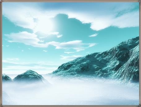 Фото туман у гор (© Флориссия), добавлено: 14.02.2011 14:37
