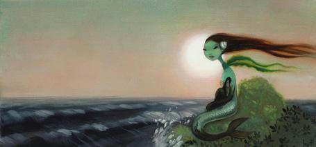 Фото Русалка на берегу моря (© Anatol), добавлено: 14.02.2011 16:26