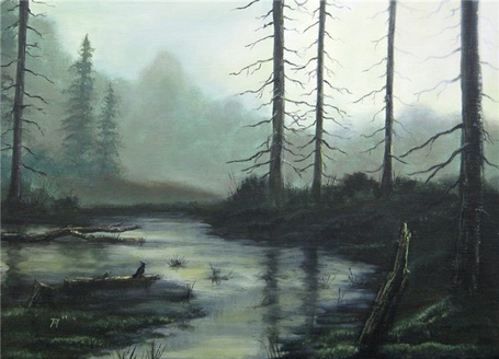 Фото унылый пейзаж