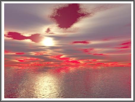 Фото красное небо, свинцовые облака (альтернативный мир) (© Флориссия), добавлено: 25.02.2011 17:08