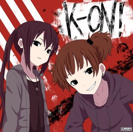 Фото две аниме девушки (аниме k-on) (© KapriZnaya), добавлено: 27.02.2011 13:11