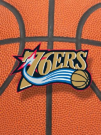Фото Эмблема баскетбольной команды '76ers' (© Volkodavsha), добавлено: 07.02.2011 23:55