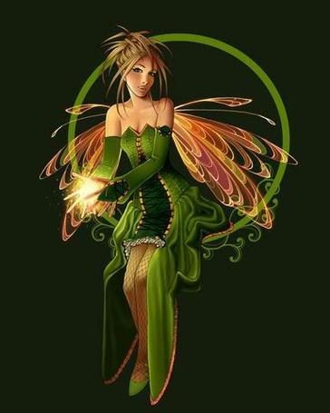 Фото Зеленая фея (© Krista Zarubin), добавлено: 08.02.2011 14:36