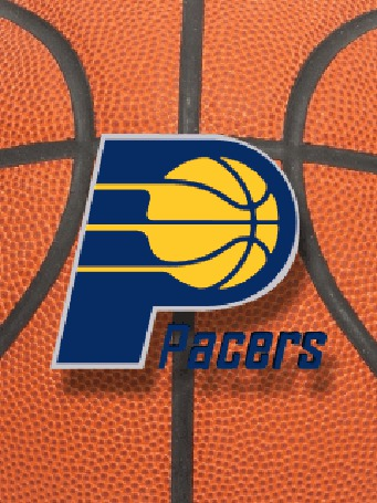 Фото Эмблема баскетбольной команды 'pacers'