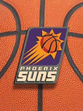 Фото Эмблема баскетбольной команды 'phoenix suns'