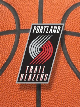 Фото Эмблема баскетбольной команды 'portland trail blazers'
