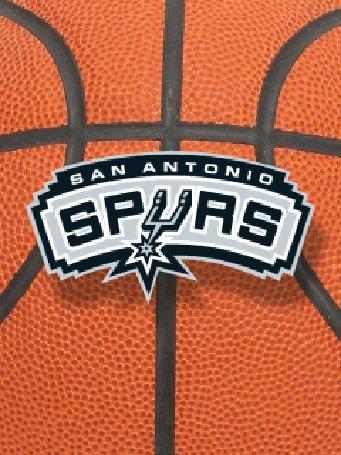 Фото Эмблема баскетбольной команды 'san antonio spyrs'
