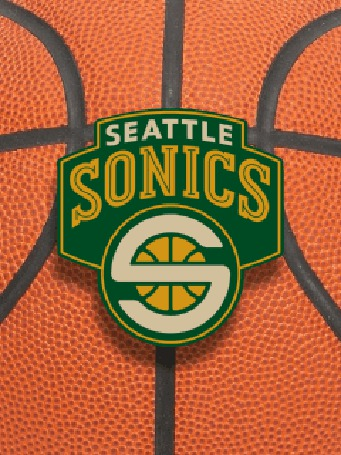 Фото Эмблема баскетбольной команды 'seattle sonics'