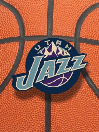 Фото Эмблема баскетбольной команды 'utah jazz'