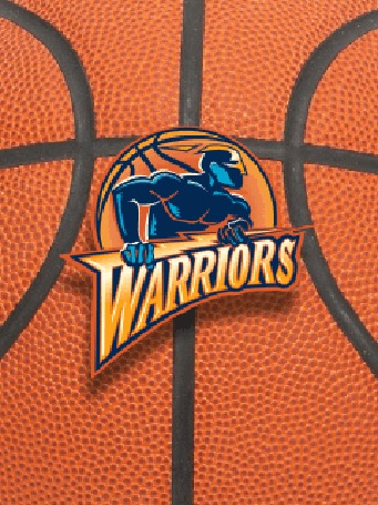 Фото Эмблема баскетбольной команды 'warriors'
