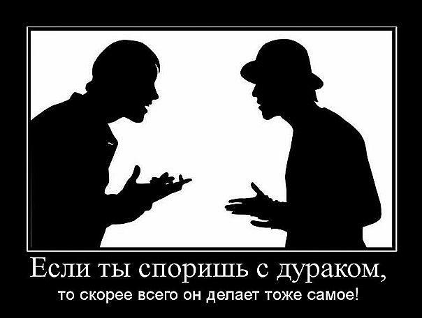 Фото если ты споришь с дураком, то скорее всего он делает тоже самое!