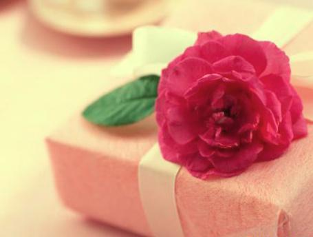 Фото Подарочная коробка с розой (© TARAKLIA), добавлено: 02.03.2011 09:59