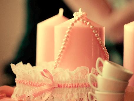 Фото Чашечки,свечи,жемчуг и подвязка невесты (© TARAKLIA), добавлено: 02.03.2011 10:10