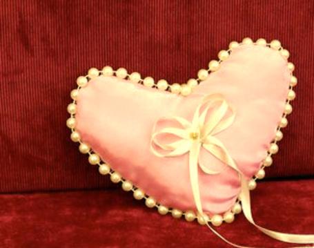 Фото Подушечка для свадебных колец (© TARAKLIA), добавлено: 02.03.2011 10:11