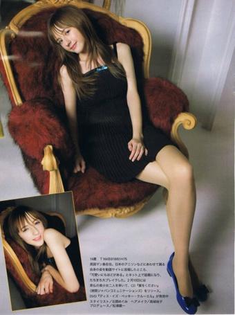 Фото Beckii Cruel сидит в кресле (© Юки-тян), добавлено: 04.03.2011 18:01